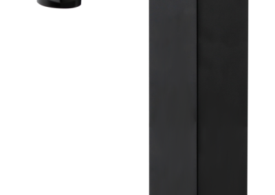 Kubos Tower Vessel Mixer - Black